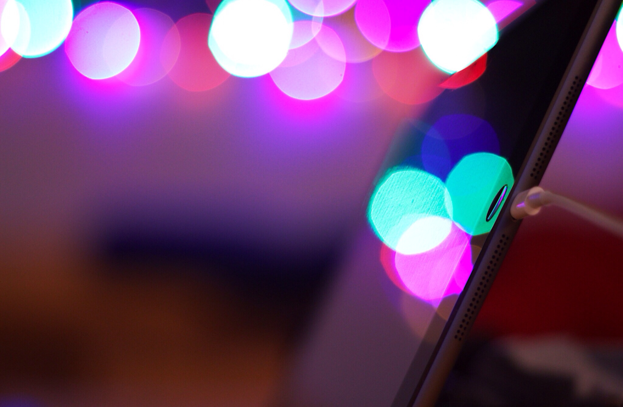 iPad Air bokeh